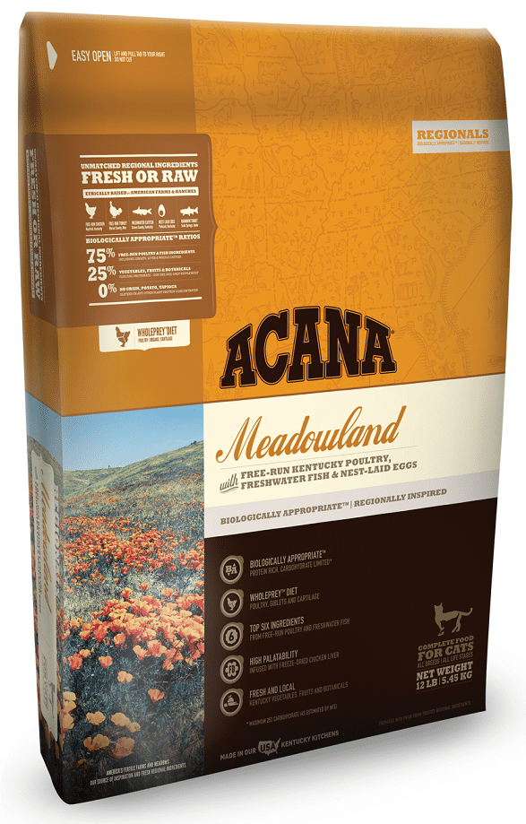 ACANA Regionals Meadowland Formula Cat and Kitten Dry Cat Food Image