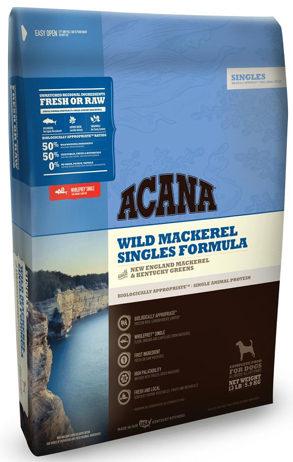 ACANA Singles Limited Ingredient Diet Wild Mackerel Formula Dry Dog Food Image