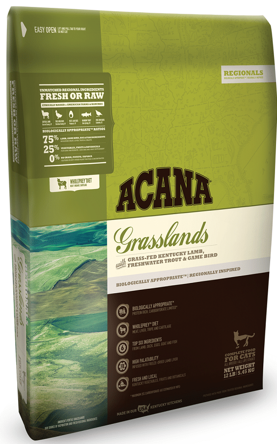 ACANA Regionals Grasslands Formula Cat and Kitten Dry Cat Food Image