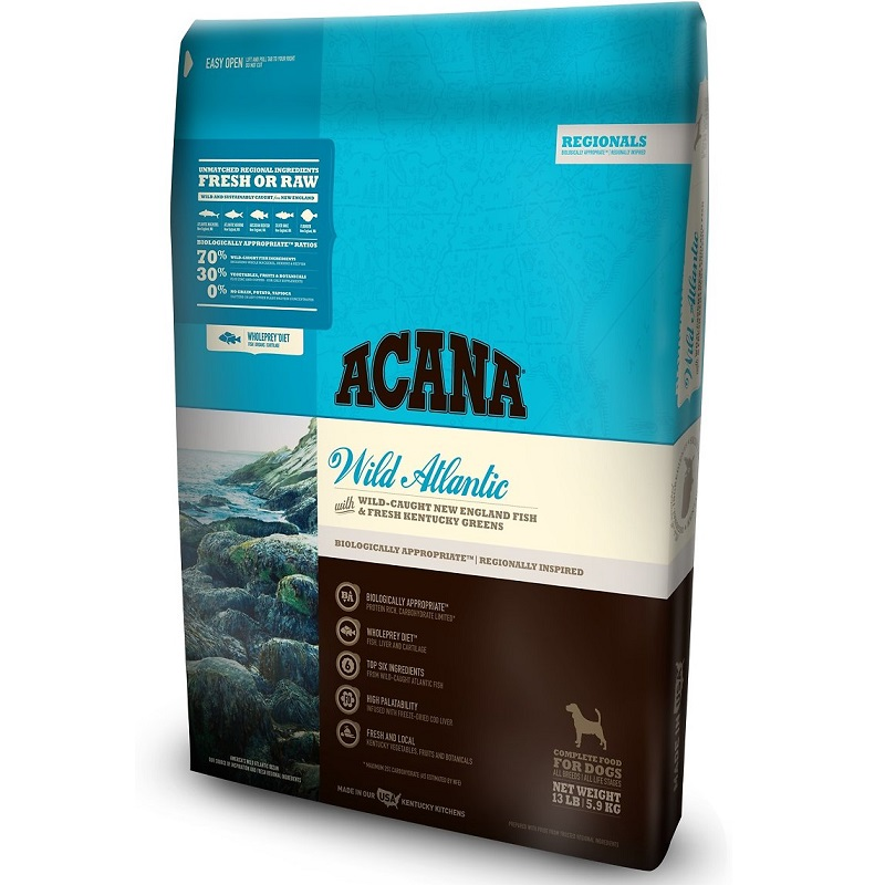 ACANA Regionals Wild Atlantic Formula Grain Free Dry Dog Food, 13-lb