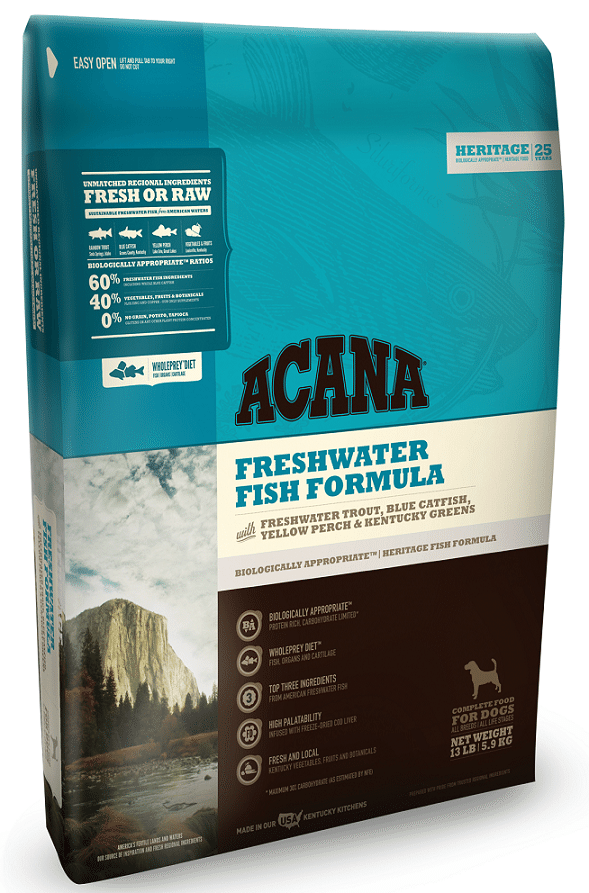 ACANA Heritage Freshwater Fish Formula Grain Free Dry Dog Food Image