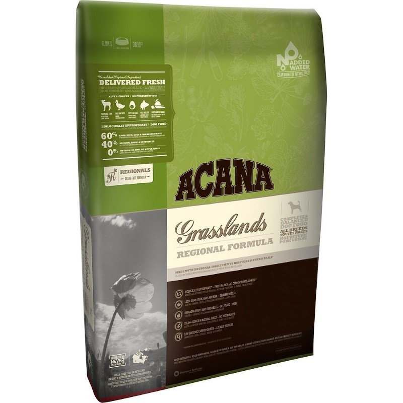 ACANA Regionals Grasslands Formula Grain Free Dry Dog Food, 4.5-lb