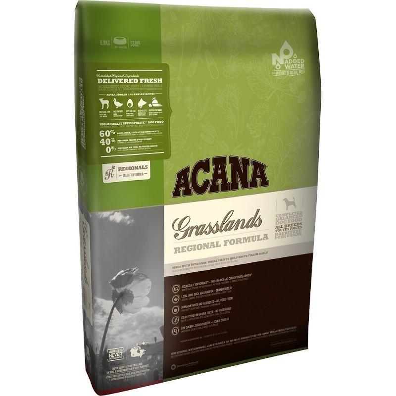 ACANA Regionals Grasslands Formula Grain Free Dry Dog Food, 25-lb
