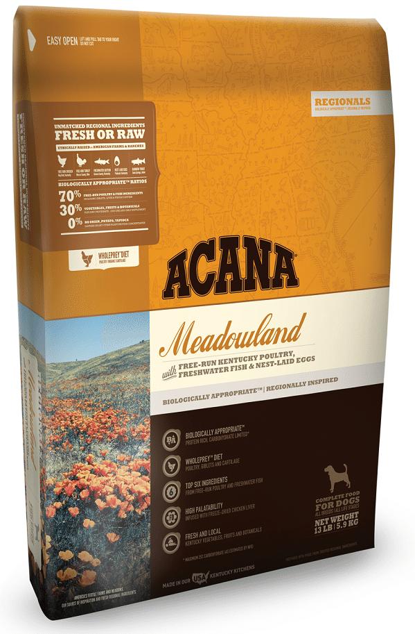 ACANA Regionals Meadowland Formula Grain Free Dry Dog Food Image