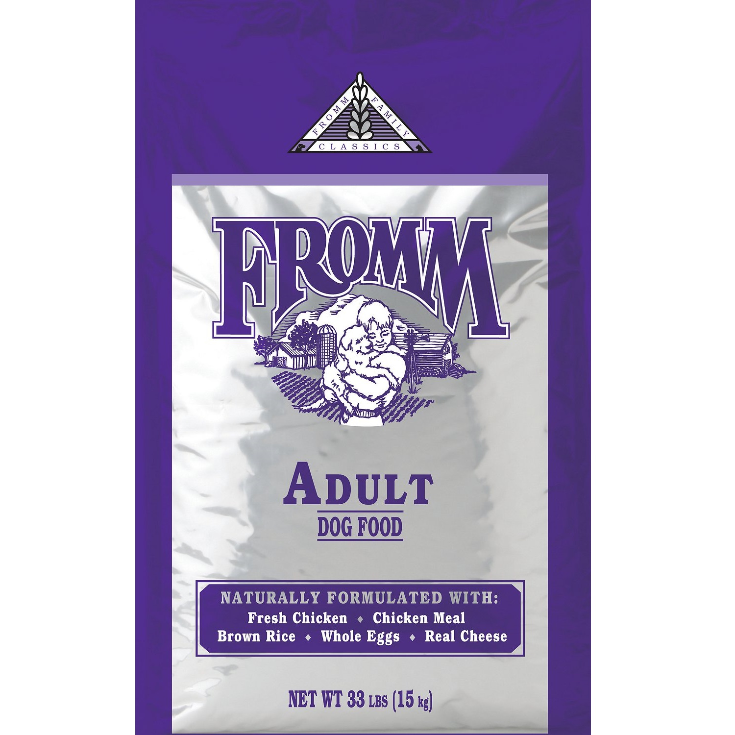Fromm Family Classics Adult Formula Dry Dog Food, 33-lb