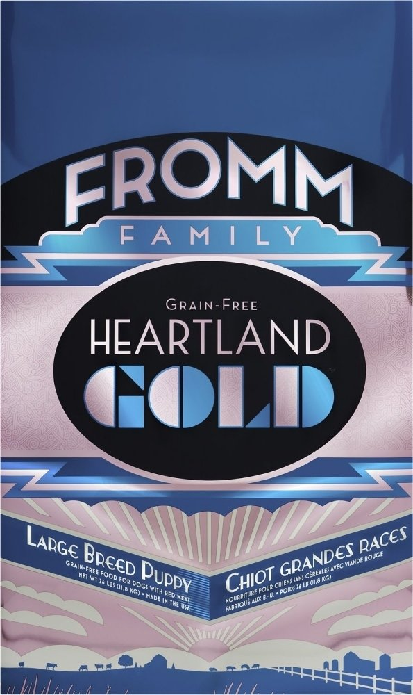 Fromm Heartland Gold Grain Free Large Breed Puppy Dry Dog Food, 26-lb