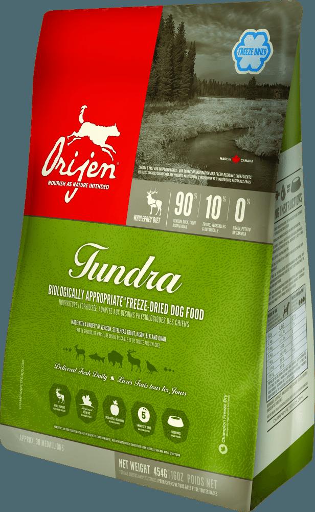 ORIJEN Grain Free Tundra Adult Freeze Dried Dog Food Image