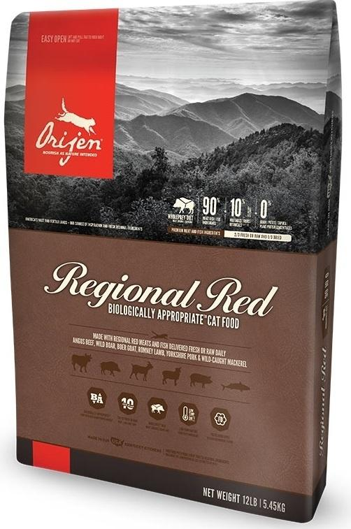 ORIJEN Grain Free Regional Red Dry Cat Food Image