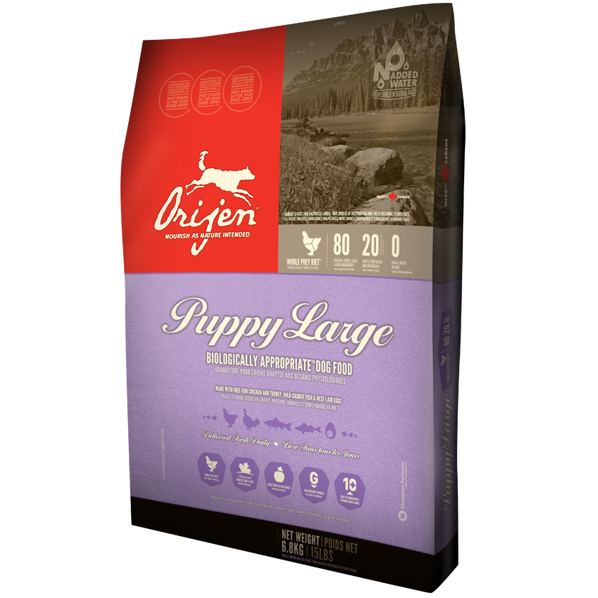 ORIJEN Puppy Large Breed Dry Dog Food, 13-lb