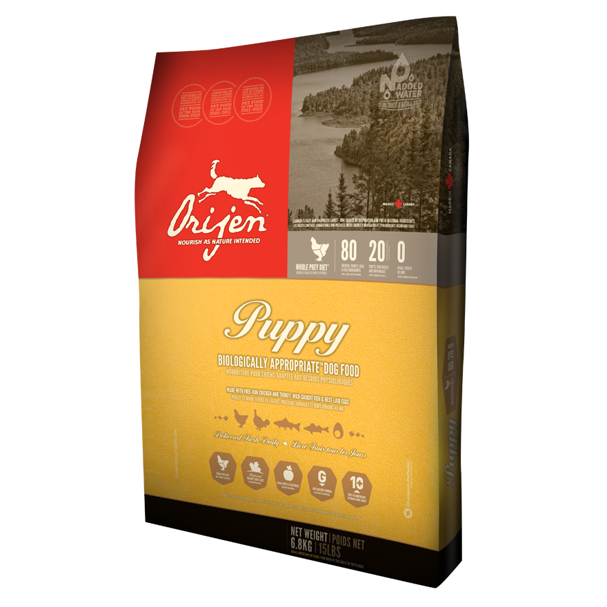 ORIJEN Puppy Dry Dog Food, 13-lb