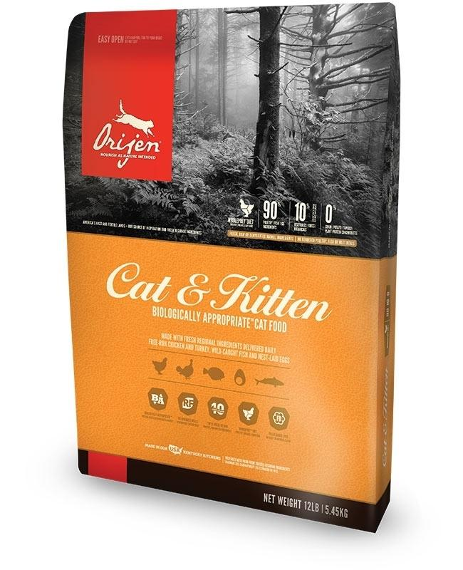 ORIJEN Cat and Kitten Grain Free Dry Cat Food Image