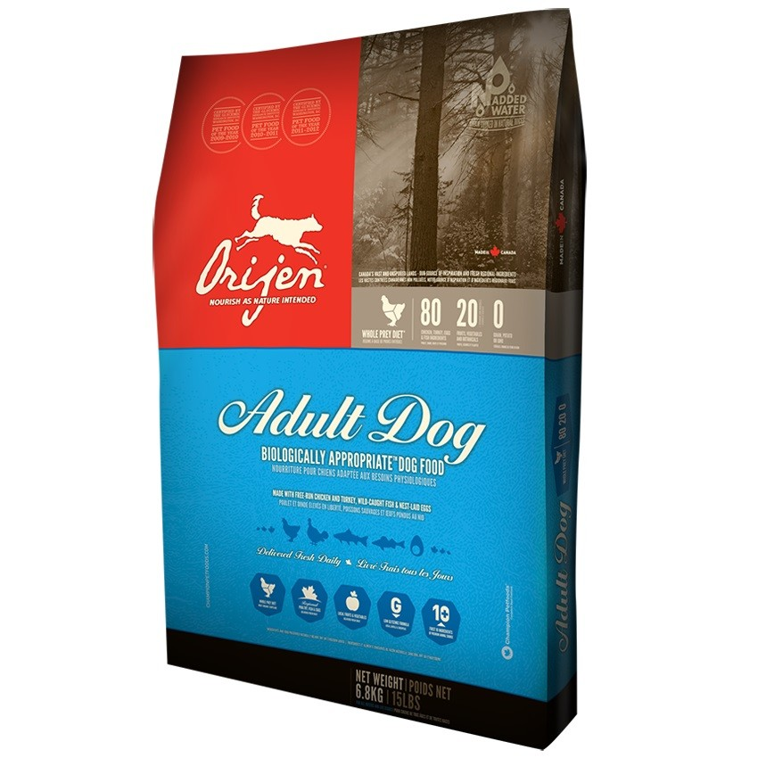 ORIJEN Original Dry Dog Food, 25-lb