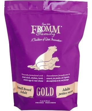 Fromm Gold Small Breed Adult Dry Dog Food, 5-lb
