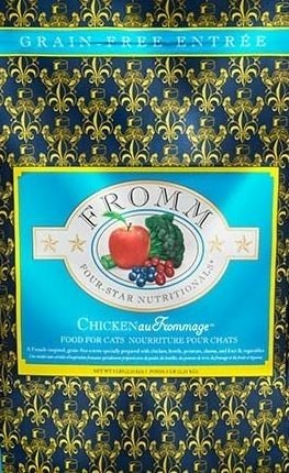 Fromm Four Star Grain Free Chicken au Frommage Dry Cat Food Image
