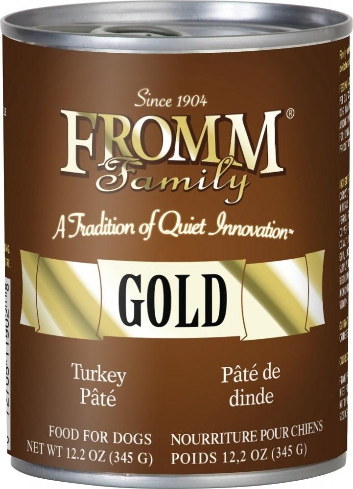 Fromm Gold Turkey Pate Canned Dog Food, 12.2-oz