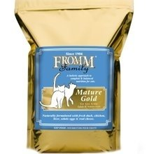 Fromm Gold Mature Dry Cat Food, 5-lb