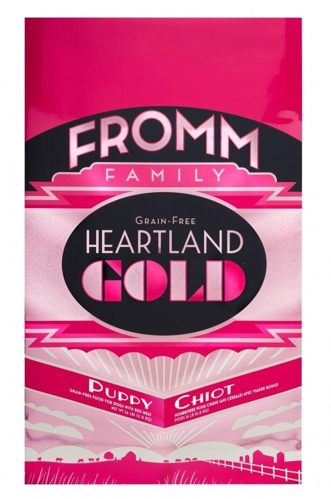 Fromm Heartland Gold Grain Free Puppy Dry Dog Food, 12-lb