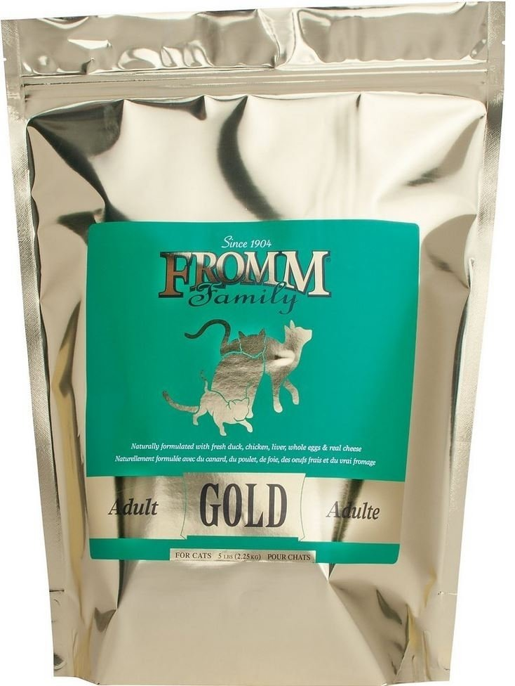 Fromm Gold Adult Dry Cat Food, 5-lb