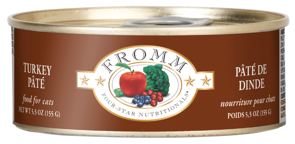 Fromm Four Star Turkey Pate Canned Cat Food, 5.5-oz Size: 5.5-oz