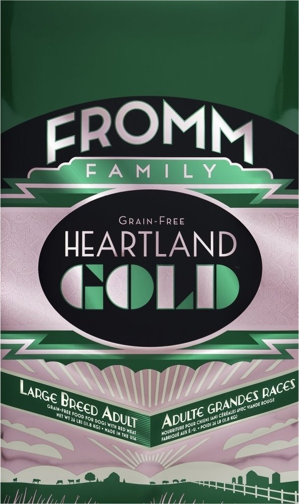 Fromm Heartland Gold Grain Free Large Breed Adult Dry Dog Food, 26-lb