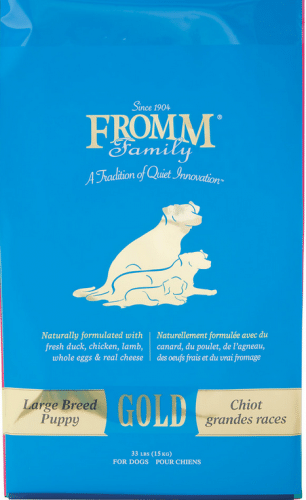 Fromm Gold Large Breed Puppy Dry Dog Food, 15-lb