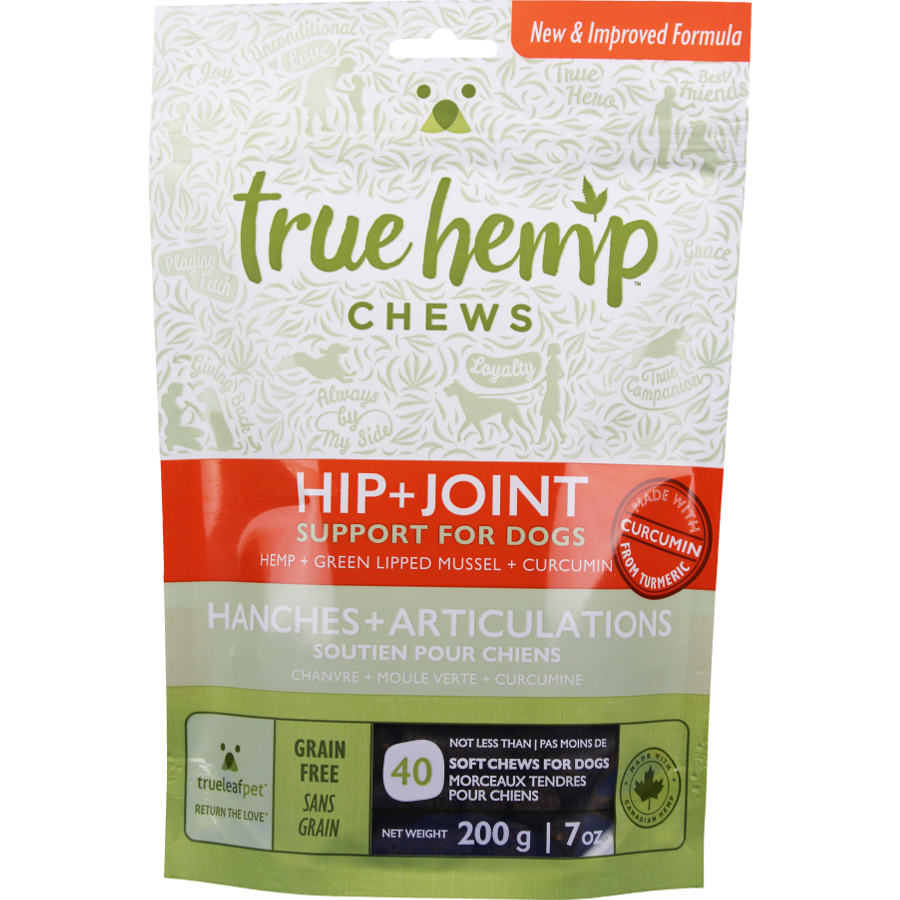 True 'HIP + JOINT' Chew for Dogs 7z