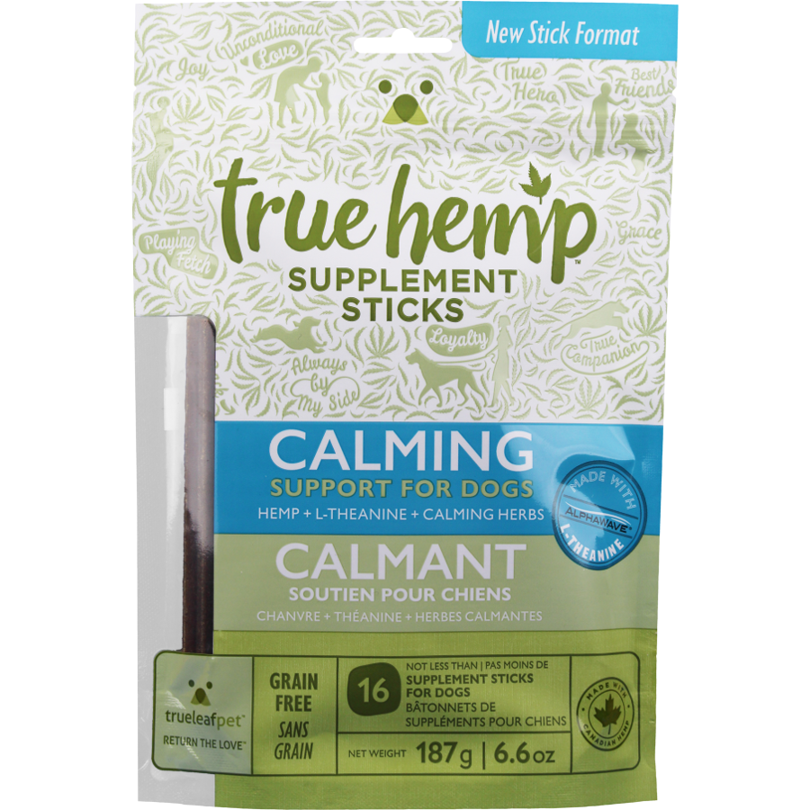 True Calming Supplement Sticks for Dogs 6.6-oz
