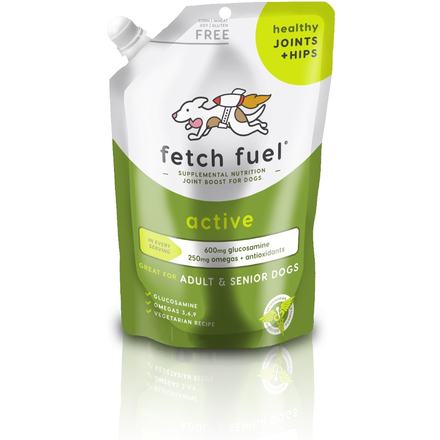 Presidio Fetch Fuel Active Joint + Hips Supplement for Dogs, 12.5-oz