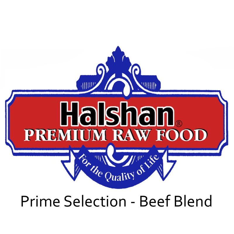 Halshan Prime Selection Beef Blend Raw Frozen Dog Food
