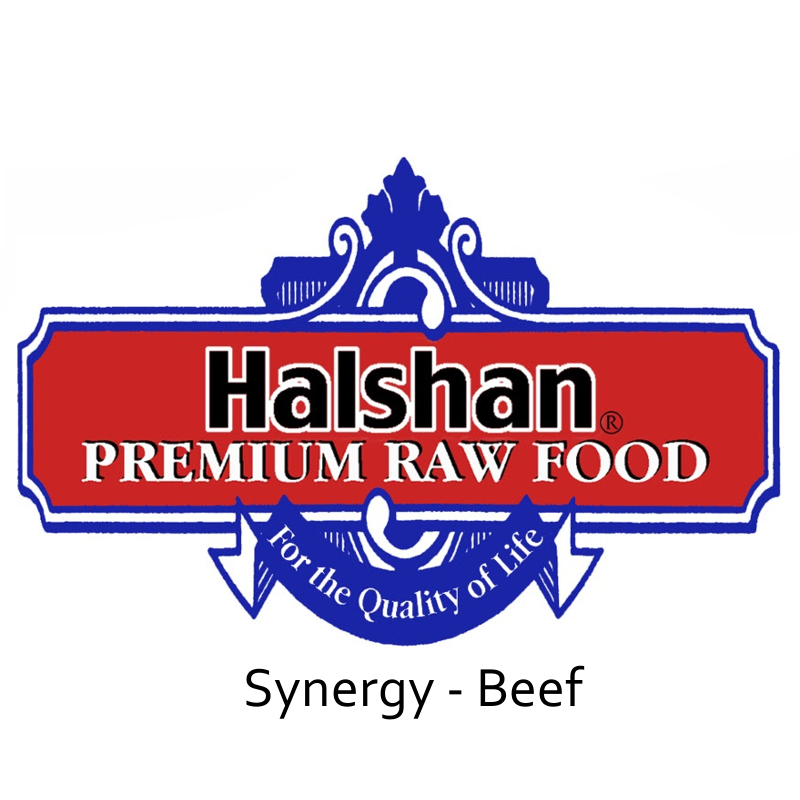 Halshan Synergy Beef Raw Frozen Dog Food