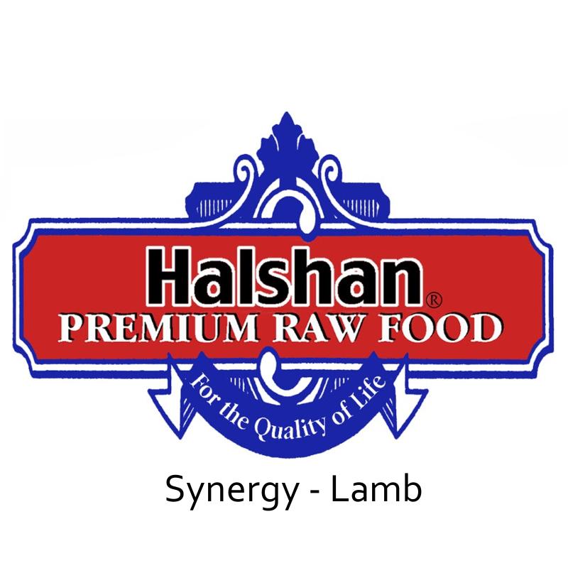 Halshan Synergy Lamb Raw Frozen Dog Food