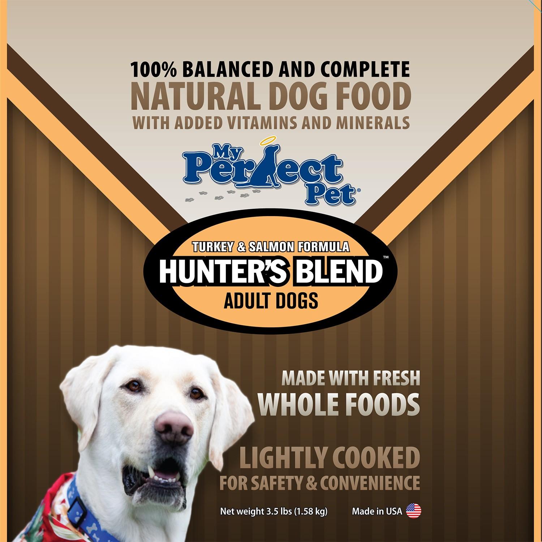 My Perfect Pet Grain-Free Hunter's Turkey & Salmon Frozen Dog Food