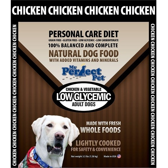 My Perfect Pet Low Glycemic Blend Chicken Frozen Dog Food