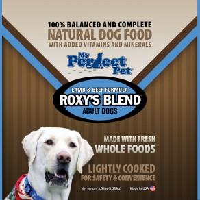 My Perfect Pet Roxy's Blend Lamb & Beef Frozen Dog Food