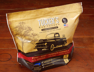 Tucker's Raw Frozen Grain-Free Pork, Beef & Pumpkin Formula Raw Frozen Dog Food, 6lbs