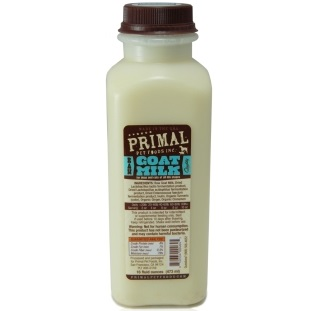 Primal Raw Goat Milk Raw Frozen Dog & Cat Food, 1 pint (16z) Size: 1 pint (16z)