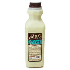 Primal Raw Goat Milk Raw Frozen Dog & Cat Food, 32-oz