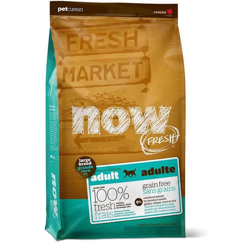 Petcurean Dog Now Fresh Grain-Free Large Breed Adult Recipe Dry Dog Food