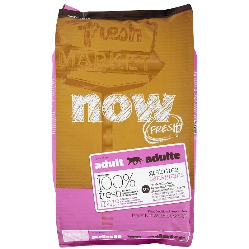 Petcurean Cat Now Fresh Grain-Free Adult Recipe Dry Cat Food