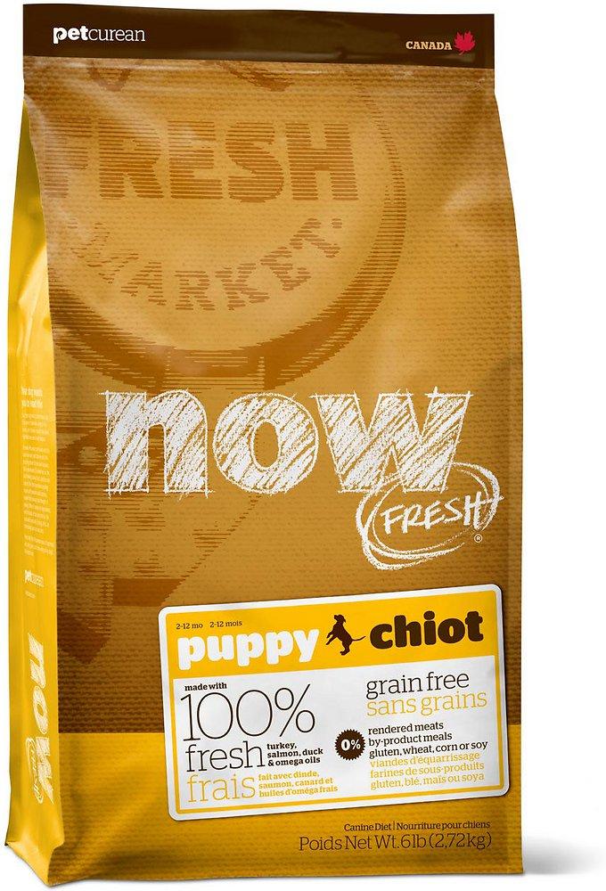 Petcurean Dog Now Fresh Grain-Free Puppy Recipe Dry Dog Food