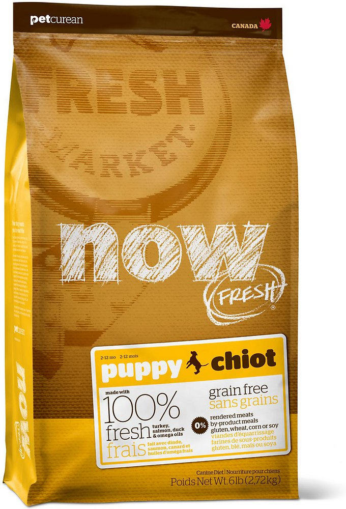 Petcurean Dog Now Fresh Grain-Free Puppy Recipe Dry Dog Food, 6lbs