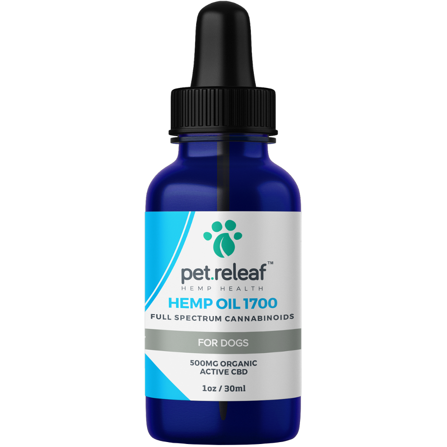 Pet Releaf Oil 1700 Supplement for Dogs & Cats, 1-oz