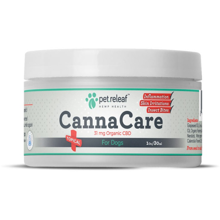 Pet Releaf Canna Care topical for Dogs, 1-oz