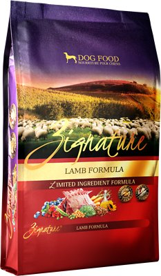 Zignature Lamb Limited Ingredient Formula Grain-Free Dry Dog Food, 27-lb bag