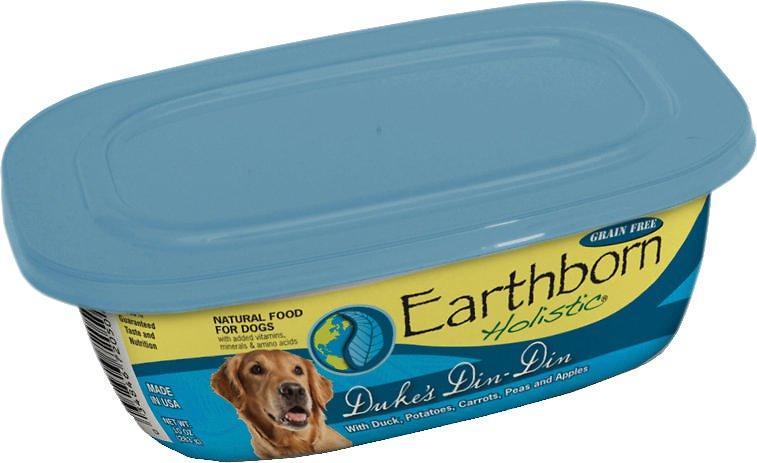 Earthborn Holistic Duke's Din-Din Grain-Free Natural Moist Dog Food, 8-oz, case of 8