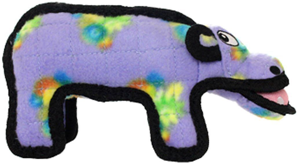 Tuffy's Zoo Hippo Hilda Dog Toy, Jr