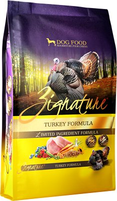 Zignature Turkey Limited Ingredient Formula Grain-Free Dry Dog Food, 4-lb bag