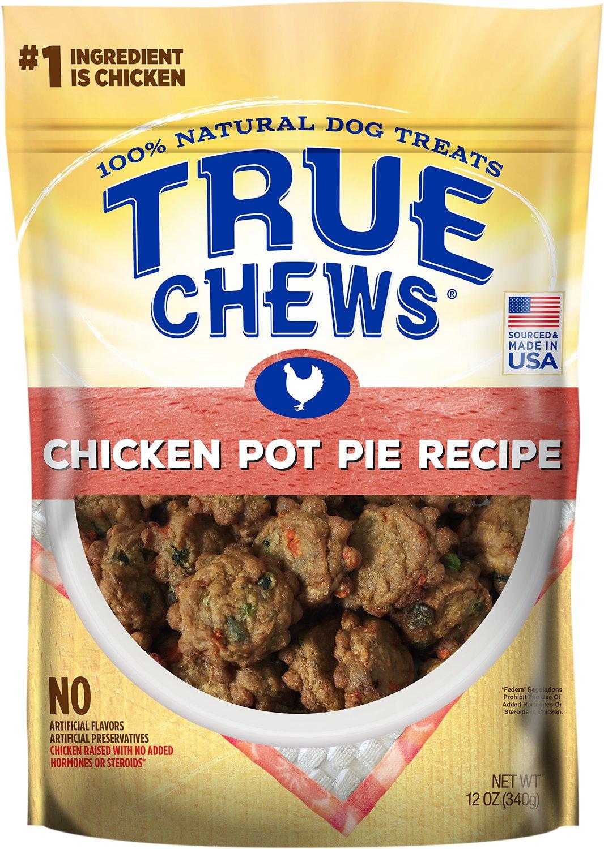 True Chews Premium Chicken Pot Pie Recipe Dog Treats, 12-oz bag