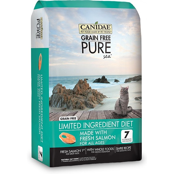 CANIDAE Grain-Free PURE Sea Salmon & Mackerel Formula Canned Dog Food, 13-oz