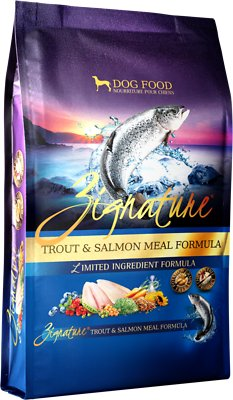Zignature Trout & Salmon Meal Limited Ingredient Formula Grain-Free Dry Dog Food, 13.5-lb bag
